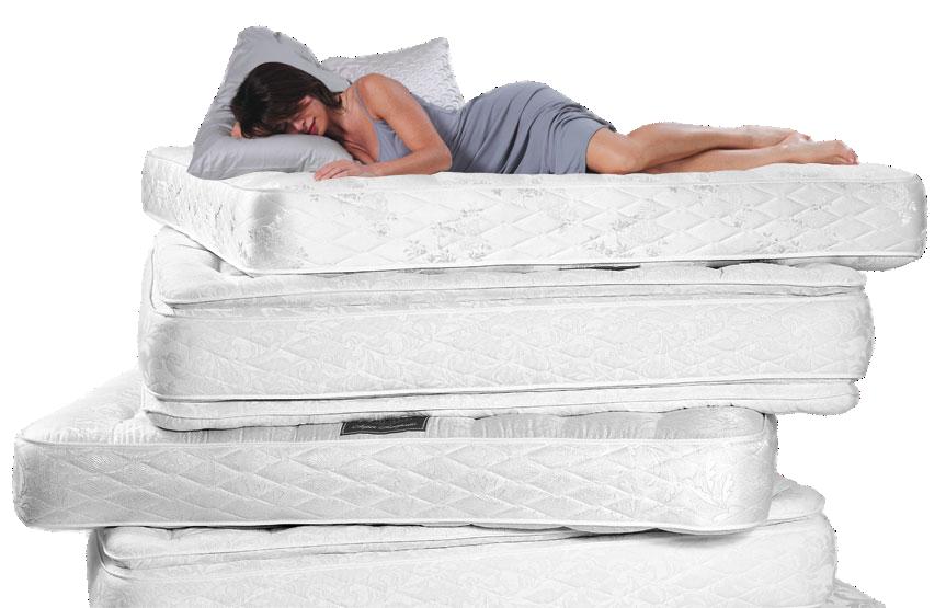 Narrow mattress Orthopedic mattresses one person